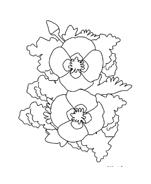 Fiore da colorare 228
