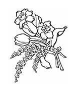 Fiore da colorare 237