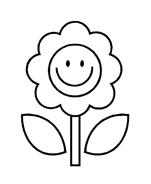 Fiore da colorare 243