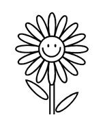 Fiore da colorare 244