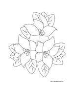 Fiore da colorare 266