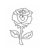 Fiore da colorare 267