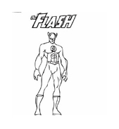 Flash da colorare for Flash da colorare