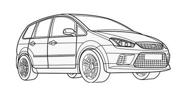 Automobile da colorare 256