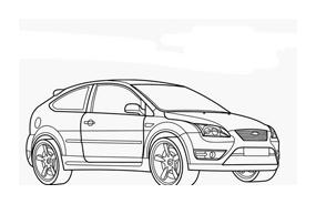 Automobile da colorare 258