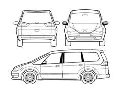 Automobile da colorare 259