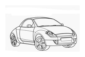 Automobile da colorare 260