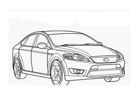 Automobile da colorare 262