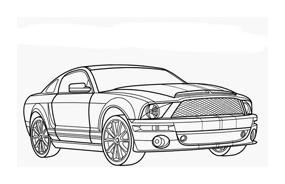 Automobile da colorare 263