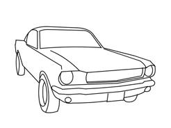 Automobile da colorare 264