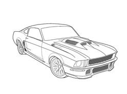Automobile da colorare 265