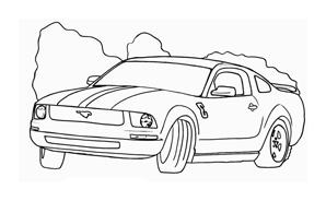 Automobile da colorare 267