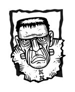 Frankenstein da colorare 7