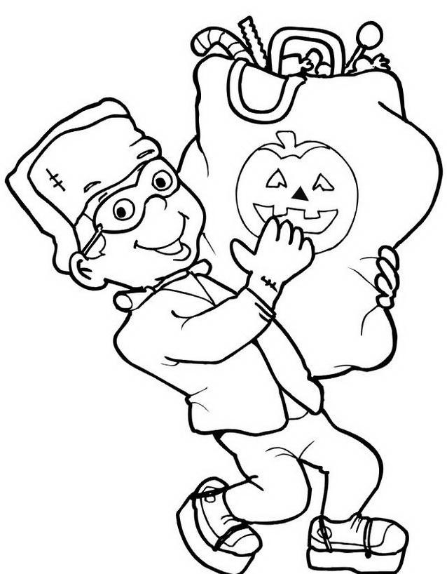 Frankenstein da colorare 25