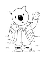 Fratelli-koala da colorare 2