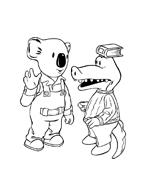 Fratelli-koala da colorare 22