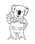Fratelli-koala da colorare 33