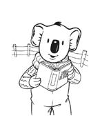 Fratelli-koala da colorare 38