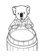 Fratelli-koala da colorare 41