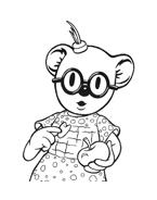 Fratelli-koala da colorare 46
