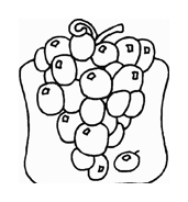Frutto da colorare 48