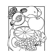 Frutto da colorare 65