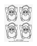 Furby da colorare 10