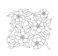 Fiore da colorare 273