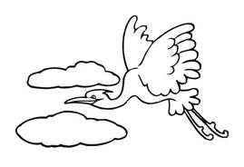 Uccello da colorare 161