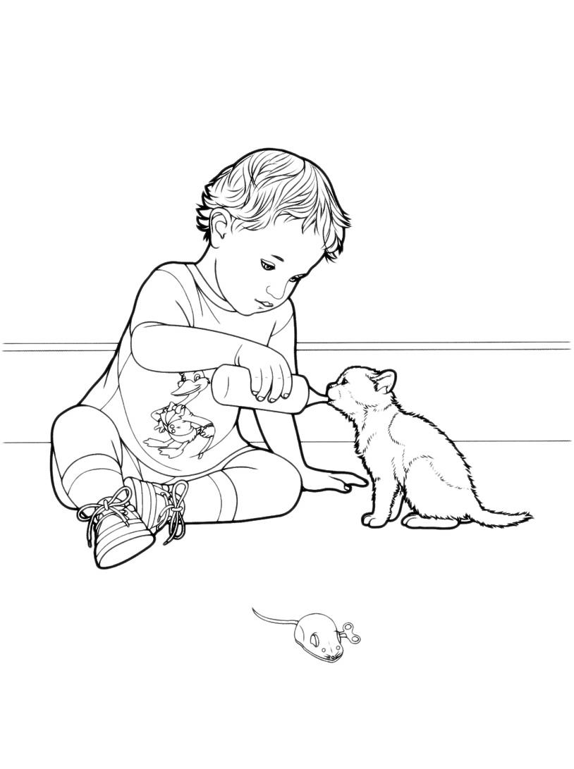 Gatto da colorare 28
