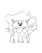 Gatti da colorare 45