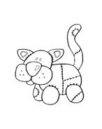 Gatti da colorare 46