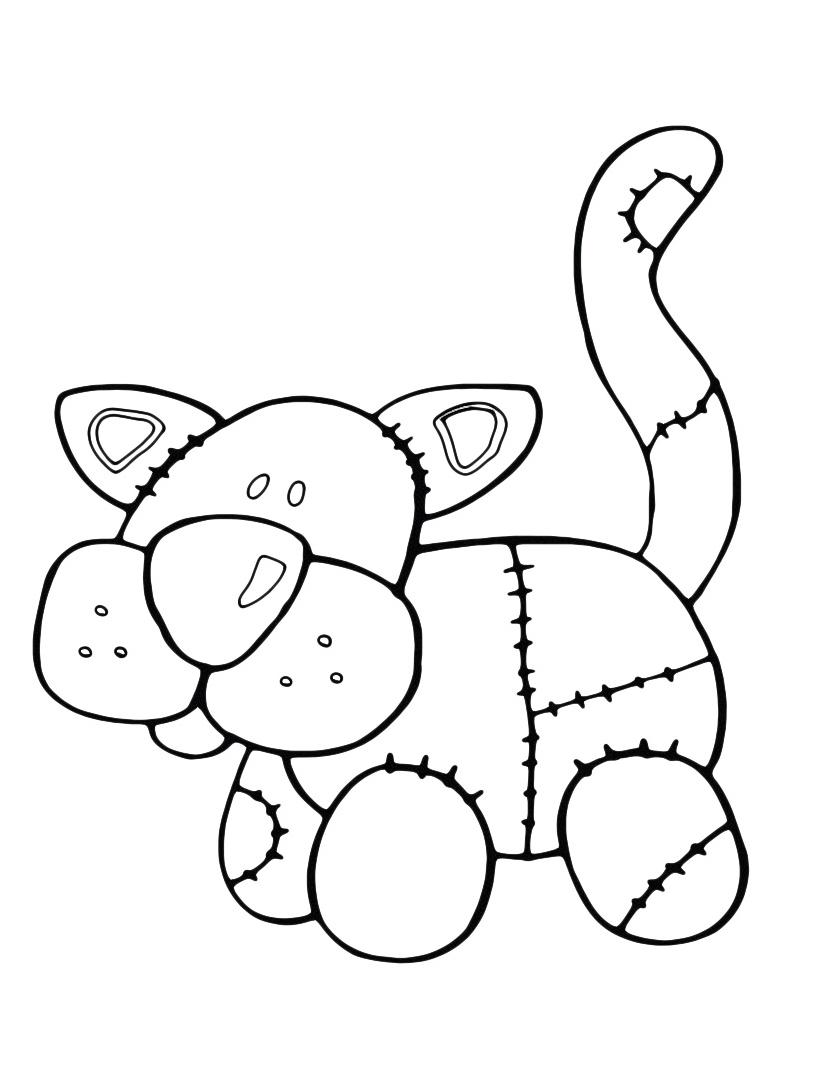 Gatto da colorare 45