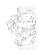 Gatti da colorare 49