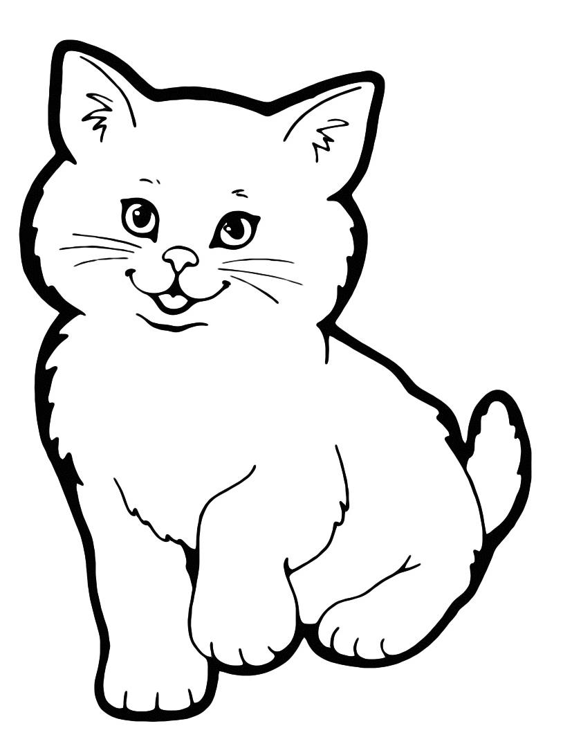 Gatto da colorare 50