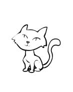 Gatti da colorare 57