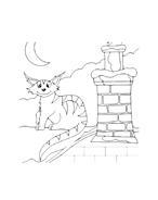 Gatti da colorare 66