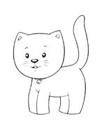 Gatti da colorare 67