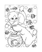 Gatti da colorare 84