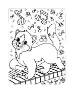 Gatti da colorare 85