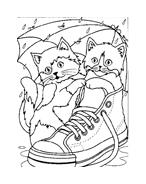 Gatti da colorare 88