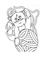 Gatti da colorare 89