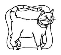 Gatti da colorare 91