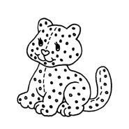 Gatti da colorare 112
