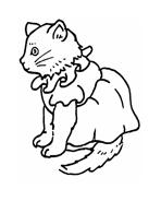 Gatti da colorare 124