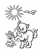 Gatti da colorare 126