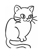 Gatti da colorare 133