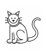 Gatti da colorare 140