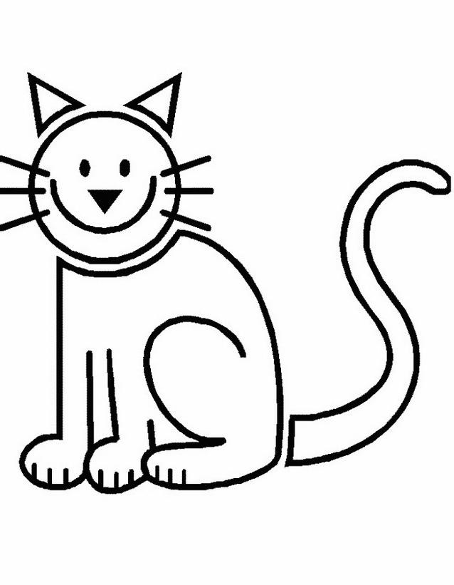 Gatto da colorare 139