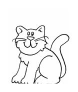 Gatti da colorare 141